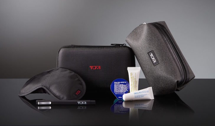 Delta new TUMI Amenity Kits