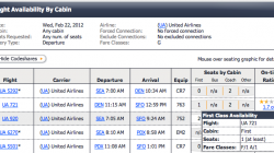 Finding Fare Class Availability