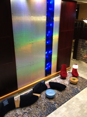 picture of hotel lobby