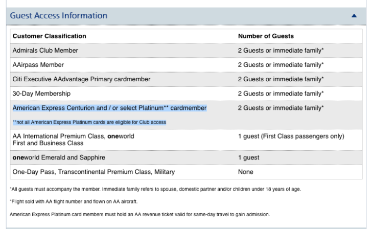 "What does a ""select"" Platinum Card mean"