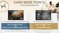 Improved Citi Hilton Reserve Card Offers $100 Statement Credit