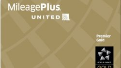 United Airlines Premier Gold Status