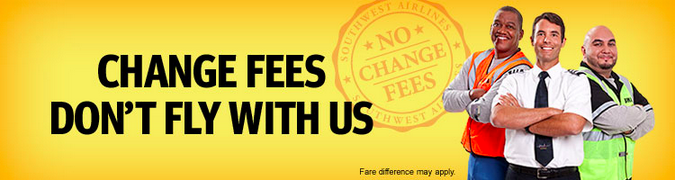 Southwest Change Fees