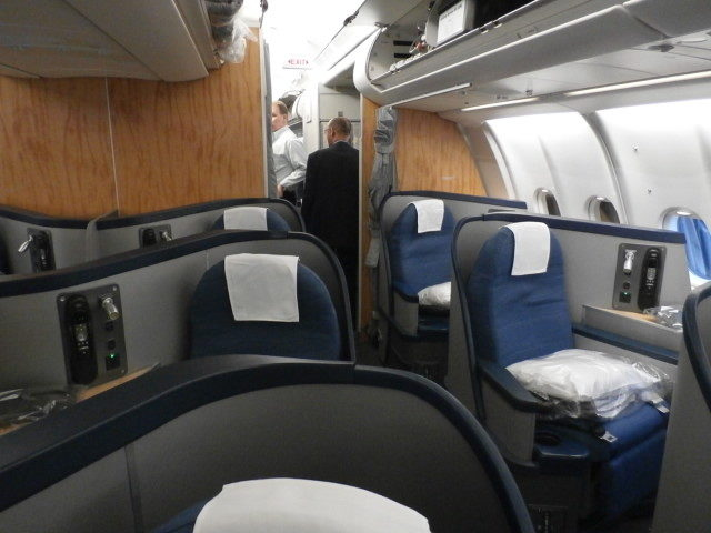 American Airlines A330 interior