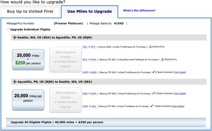 united airlines reservations number