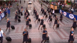 Alaska Airlines' Flight Attendant Dance Off