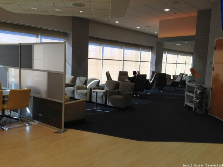 The Lounge at BOS - main seating area