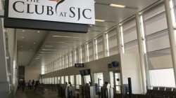 Airport Lounge Review: The Club at SJC