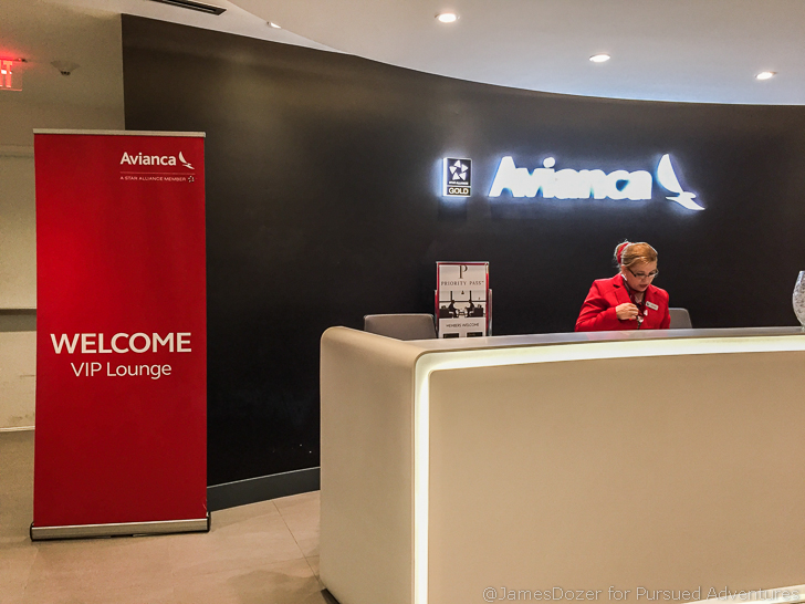 Avianca Lounge Miami