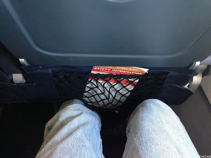 Spirit Airlines seat pitch