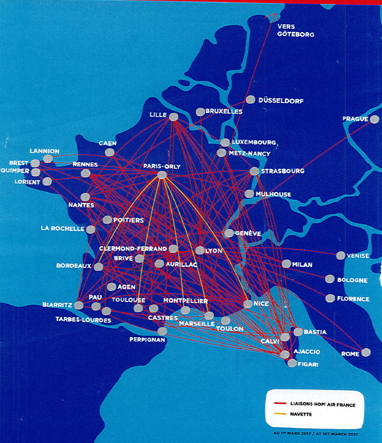 The Hub: Routes and Fleet for Air France - Travel Codex
