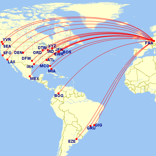 The Hub: Routes, Terminal Maps and Fleet for Lufthansa - Travel Codex