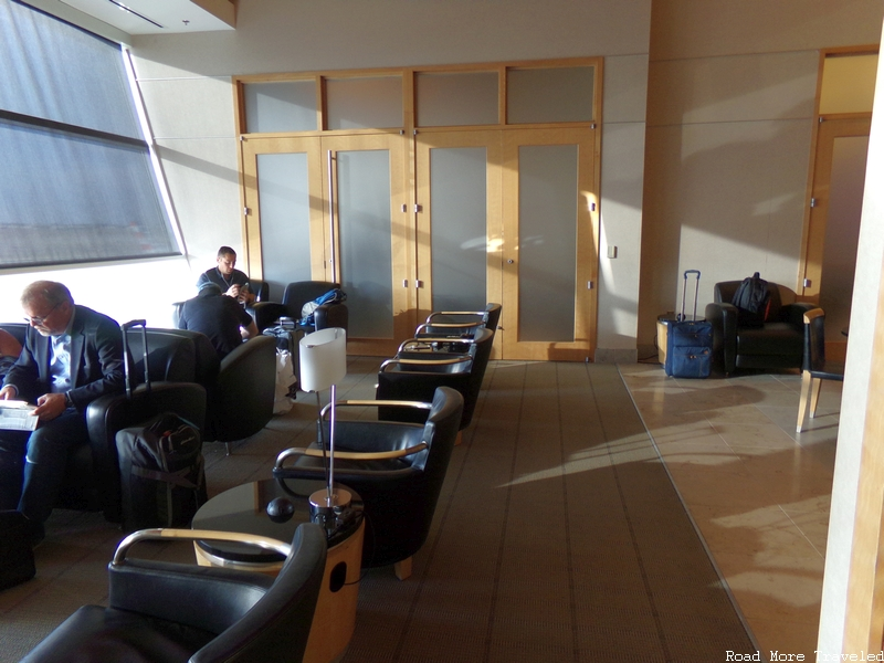 The Club at DFW - window seating area
