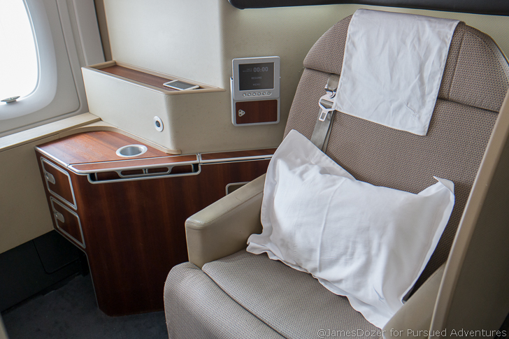 Qantas A380 First Class, Sydney to Los Angeles