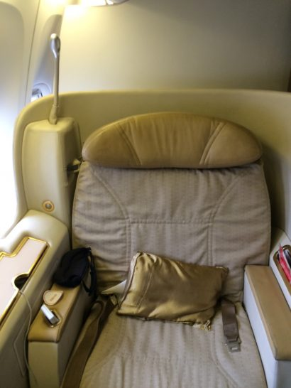 Air India First Class Report New York Jfk To Delhi India