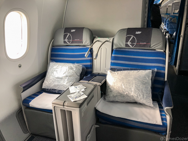Review: LOT Polish Airlines Business Class, Warsaw to Los Angeles