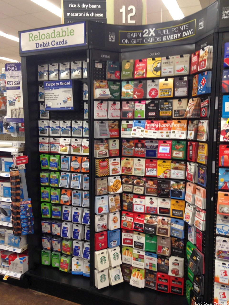 Kroger restaurant gift cards and prepaid cards