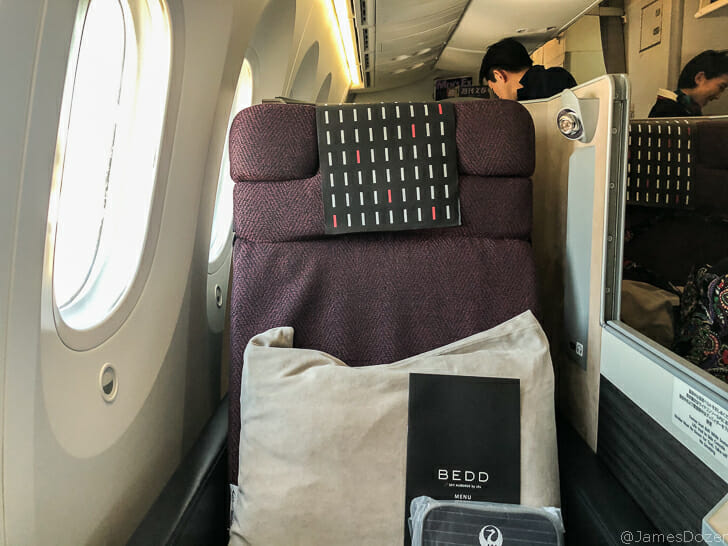 Japan Airlines Boeing 787-8 Business Class