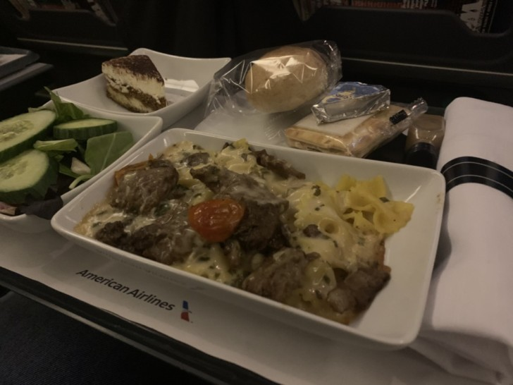 American Airlines Meal